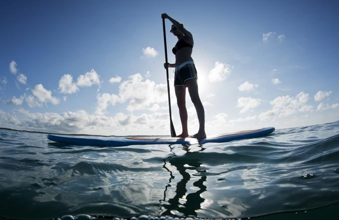 Stand-up-Paddle-Miete