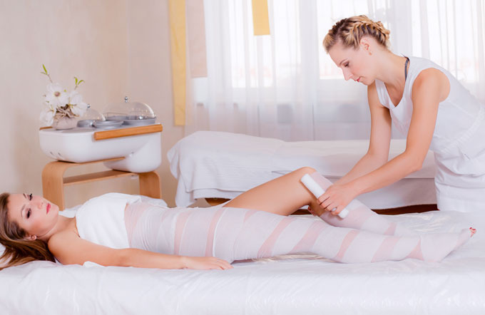 Body-Wrap-Behandlung