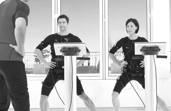EMS-Training mit Personal Trainer