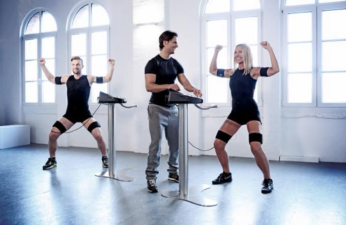 EMS-Training mit Personal-Trainer