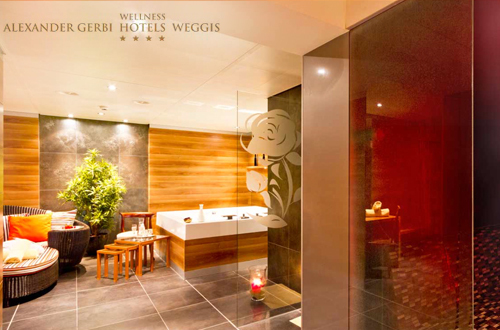 Private Spa Suite in Weggis ab 2 Personen