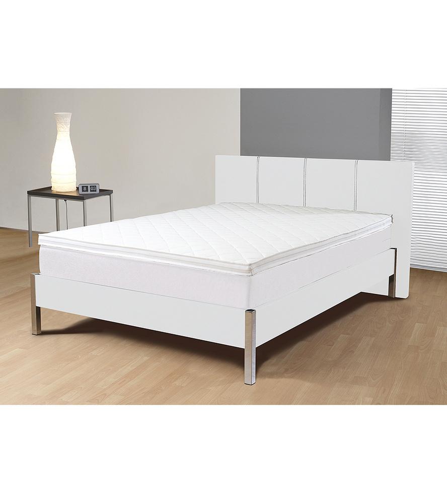 lit boxspring inside victoria cuir synth tique 160 x 200cm. Black Bedroom Furniture Sets. Home Design Ideas